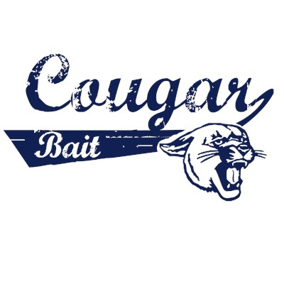 Cougar Bait funny t shirt design from BurnTees