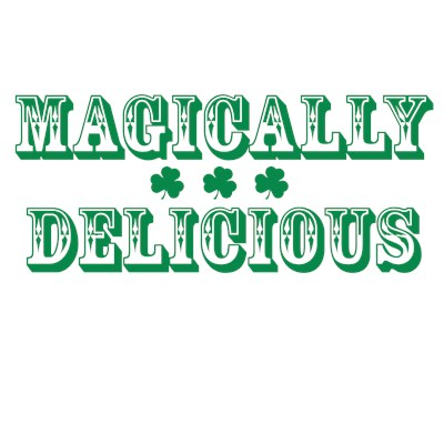 Magically Delicious St. Patrick's Day Irish funny t-shirt from BurnTees.com