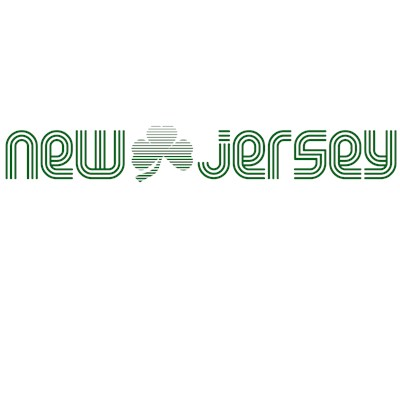 New Jersey Shamrock St. Patrick's Day T-Shirt