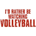 I'd Rather Be Watching Volleyball