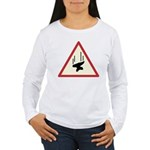 Heavy Precipitation Women's Long Sleeve T-Shirt
