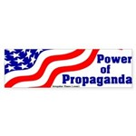 Power of Propaganda Bumper Sticker
