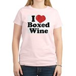 I Heart Boxed Wine Women's Light T-Shirt