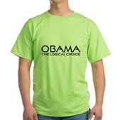 Logical Obama Green T-Shirt