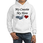 USCG Coastie Hero Dog Tags Hooded Sweatshirt