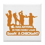 Chicken Dance Tile Coaster