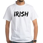 Irish Handwriting White T-Shirt