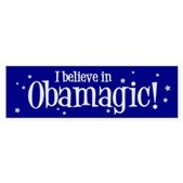 I Believe in Obamagic Bumper Sticker