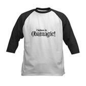 I Believe in Obamagic Kids Baseball Jersey