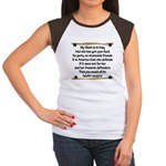 My Mommys got your back Women's Cap Sleeve T-Shirt