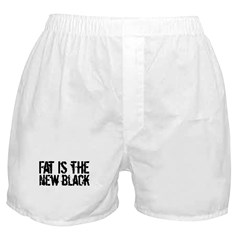 Fat Is The New Black Funny T-Shirts & Gifts Boxer Shorts