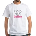 Catfox White T-Shirt