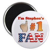 I'm Stephen's #1 Fan Magnet
