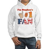 I'm Stephen's #1 Fan Hooded Sweatshirt