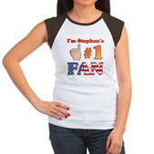 I'm Stephen's #1 Fan Women's Cap Sleeve T-Shirt