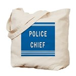 Police Chief Blues Tote Bag