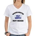 Bachelorette Party Weekend Women's V-Neck T-Shirt