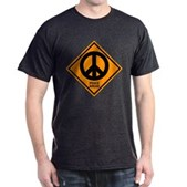 Peace Ahead Dark T-Shirt