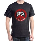 Peace is the word Dark T-Shirt