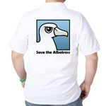 Save the Albatross (close-up) Golf Shirt