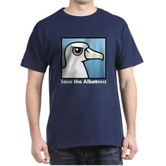 Save the Albatross (close-up) Dark T-Shirt