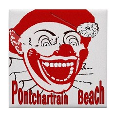 Art In The News: Pontchartrain Beach Clown Ceramic Tile