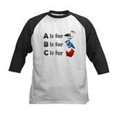 B is for Birdorable Kids Baseball Jersey