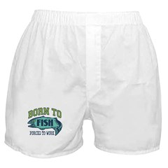 Born To Fish... Boxer Shorts
