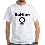 Ruffian White T-Shirt
