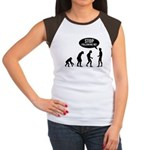 Evolution is following me Women's Cap Sleeve T-Shirt