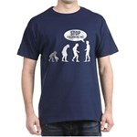 Evolution is following me Dark T-Shirt