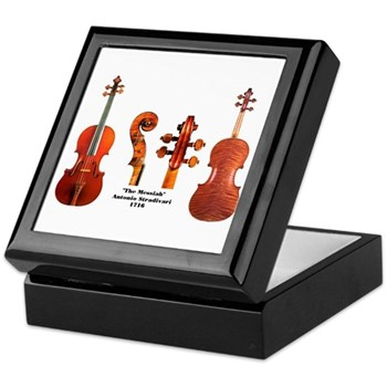 Violin Keepsake Box