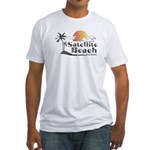Satellite Beach Fitted T-Shirt