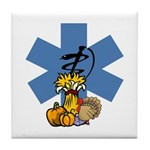 Thanksgiving EMS Tile Coaster