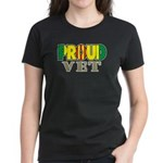 Proud Vietnam Veteran Vet Women's Dark T-Shirt