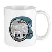 Where's My Commemorative Quarter? Mug
