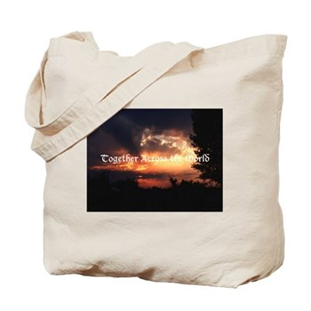 Together Across the World Totebag