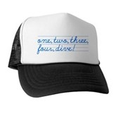 1,2,3,4,DIVE! Trucker Hat