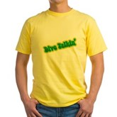 Dive Talkin' Yellow T-Shirt