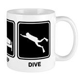 Eat Sleep Dive Mug