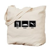 Eat Sleep Dive Tote Bag