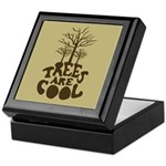 Trees Are Cool Keepsake Box