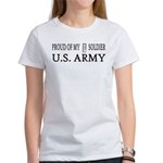 1LT - Proud of my soldier Women's T-Shirt