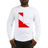 Scuba Flag Letter L Long Sleeve T-Shirt