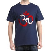 Scuba Flag Om / Aum Dark T-Shirt