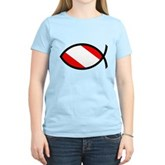 Scuba Flag Ichthys Women's Light T-Shirt
