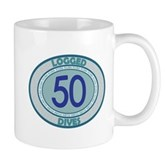 50 Logged Dives Mug