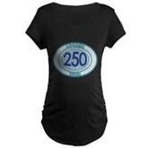250 Logged Dives Maternity Dark T-Shirt