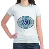 250 Logged Dives Jr. Ringer T-Shirt