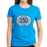 250 Logged Dives Women's Dark T-Shirt